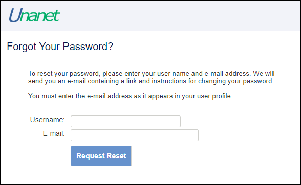 Quick Topic - How can users reset their own passwords